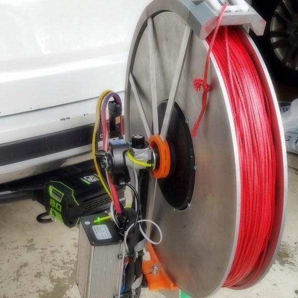 electric sport winch