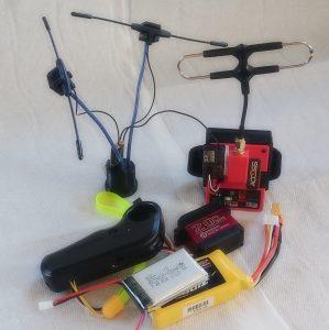 universal servo remote with batteries