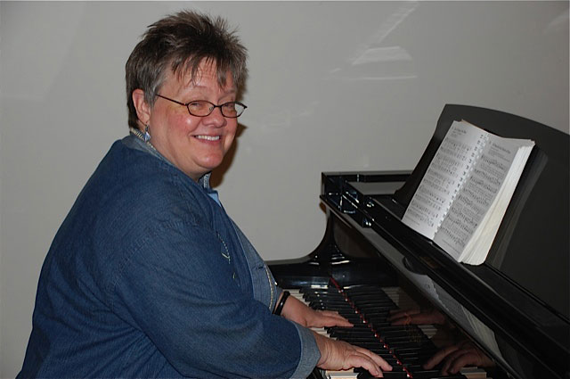 Kathy at Piano