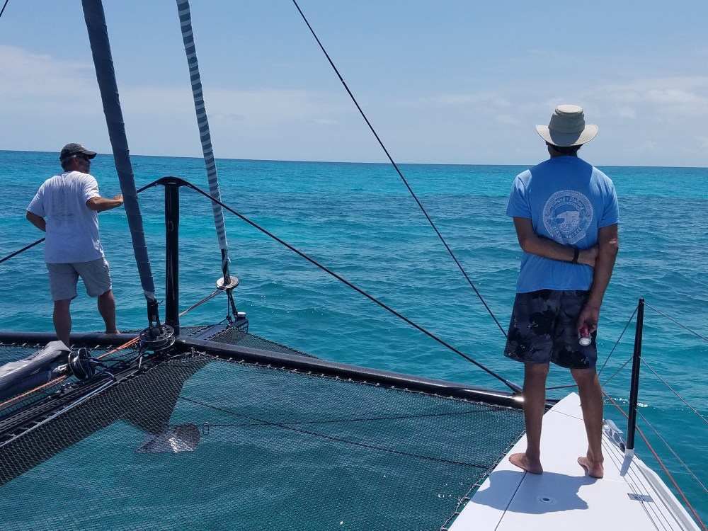 Mark & Rowland watch for shallows 6917