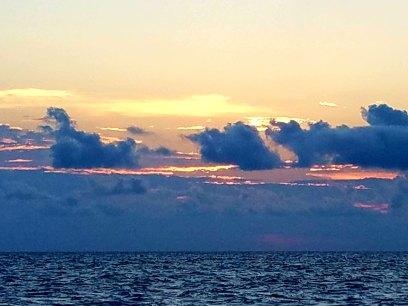 72017 sunset 1st day head north