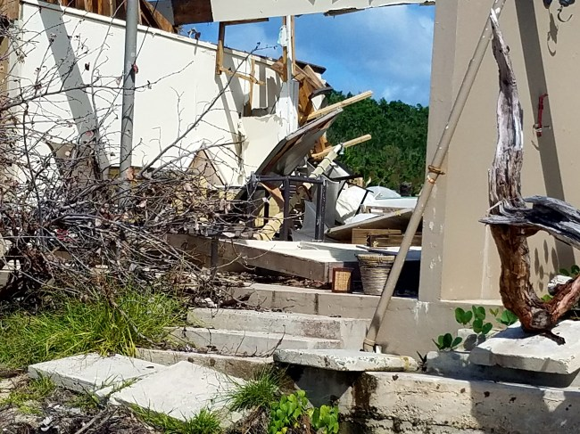 12218 destroyed caneel beach resort12