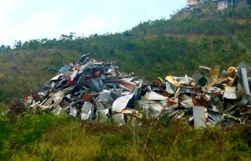 30518 st thomas piles of hurricane debris appliance
