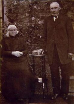 Albert en Trijntje op latere leeftijd