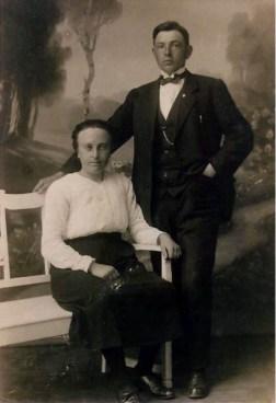 Aafke Ennema en Jan Kamstra