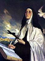In the Hands of God:       the Feast of St. Teresa of Avila