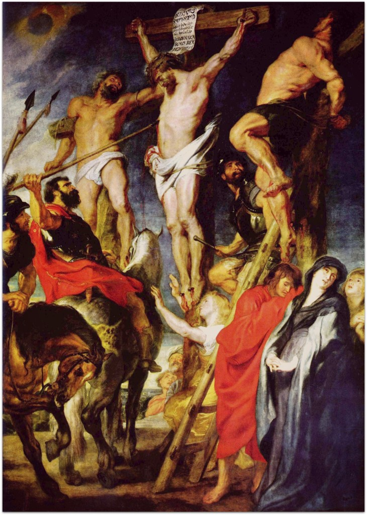 Crucifixion by Rubens