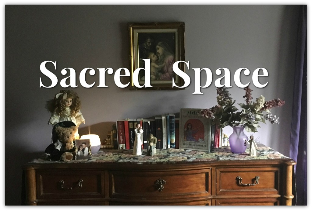 Sacred Space: (Or) How to Keep your Brain from Completely Exploding