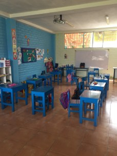 The second grade classroom