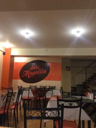 Doña Magolita's cafe