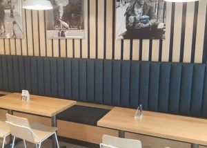Image of Just Salad seating
