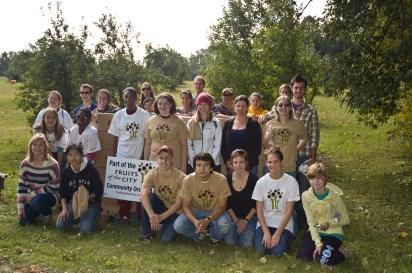 Pine City Orchard Volunteers