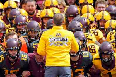 Give PJ Fleck Whatever He Wants
