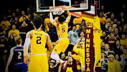 Gopher Basketball now 12th in AP Poll; HUGE Test vs Wednesday