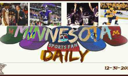 MINNESOTA SPORTS FAN DAILY: Sunday, December 31, 2017