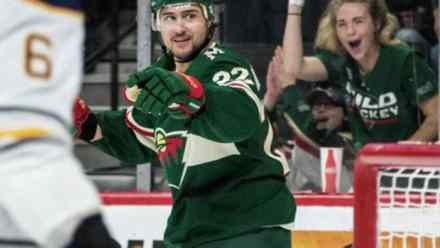 Nino Niederreiter Returns, Scores Hat Trick, Breaks Record – Welcome Back.