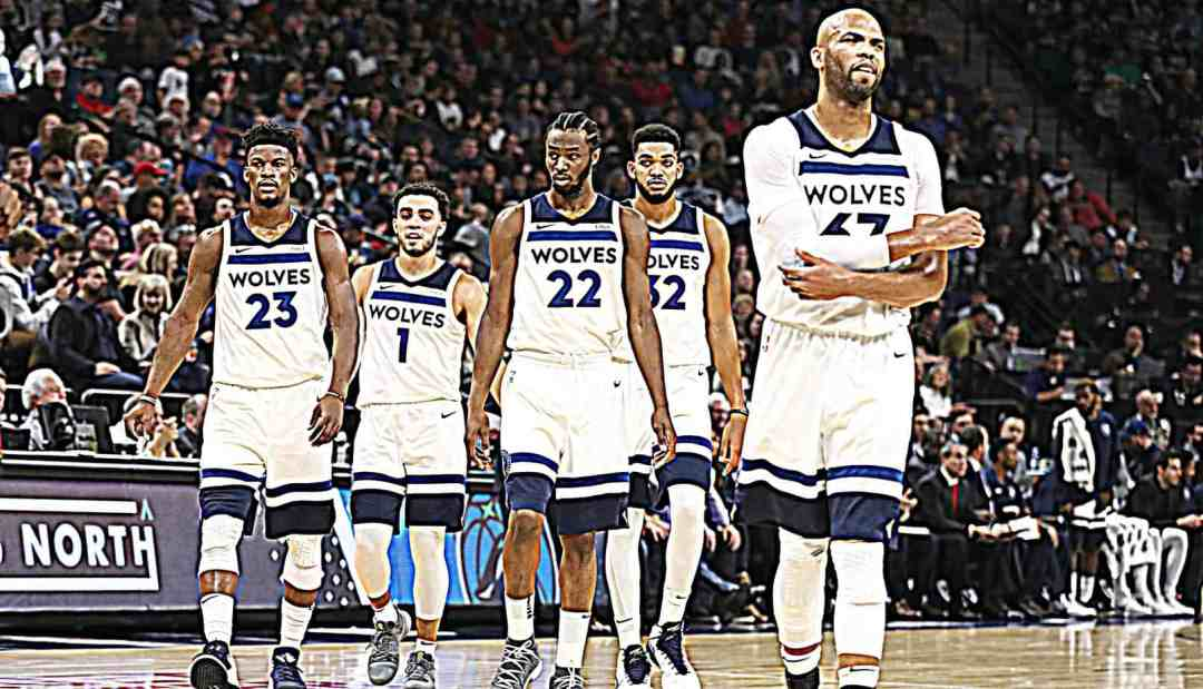 61a3d8e7be27 NBA s Most Improved Team into 2018  Minnesota Timberwolves ...