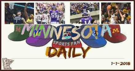 MINNESOTA SPORTS FAN DAILY: Monday, January 1, 2017