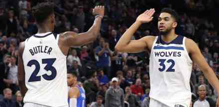 Towns and Butler Make All-Star Roster; Wiggins Left Out but Will Make $25M in '18-'19…