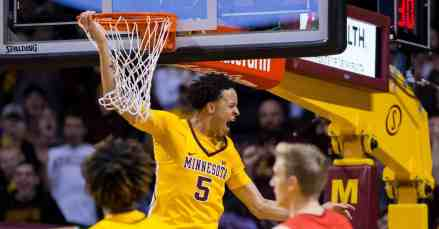 Minnesota Gophers' Sophomore (SF) Amir Coffey Out For Season