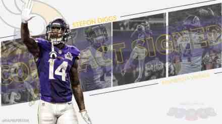 REPORT: Stefon Diggs Signing 5 Year Extension with Vikings Tuesday