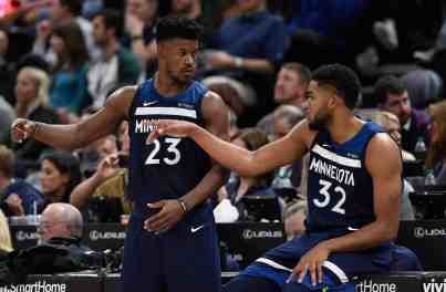 REPORT: Jimmy Butler Frustrated with KAT's Will to Win; Won't Sign Max-Extension