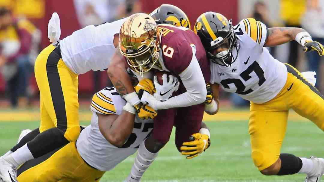 Iowa Trying to Snipe Gopher Football Commits Left and Right