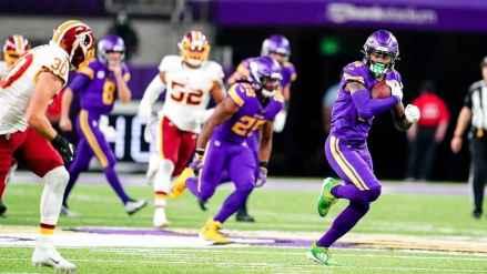 Vikings Bring C- Effort on Thursday Night But Still Dispose of REALLY Bad Washington Team
