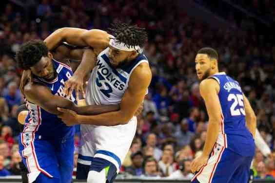 KAT/Embiid Postgame Instagram Fight Even Better Than Real On-Court Scuffle