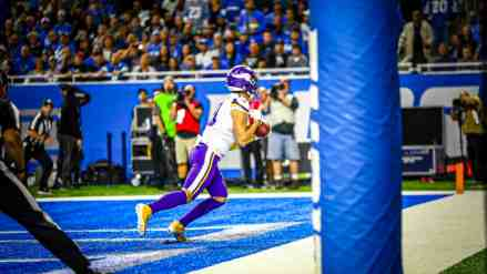 Cousins and Cook Put Defense on Their Backs; Carry Vikings to Shootout Win Over Lions