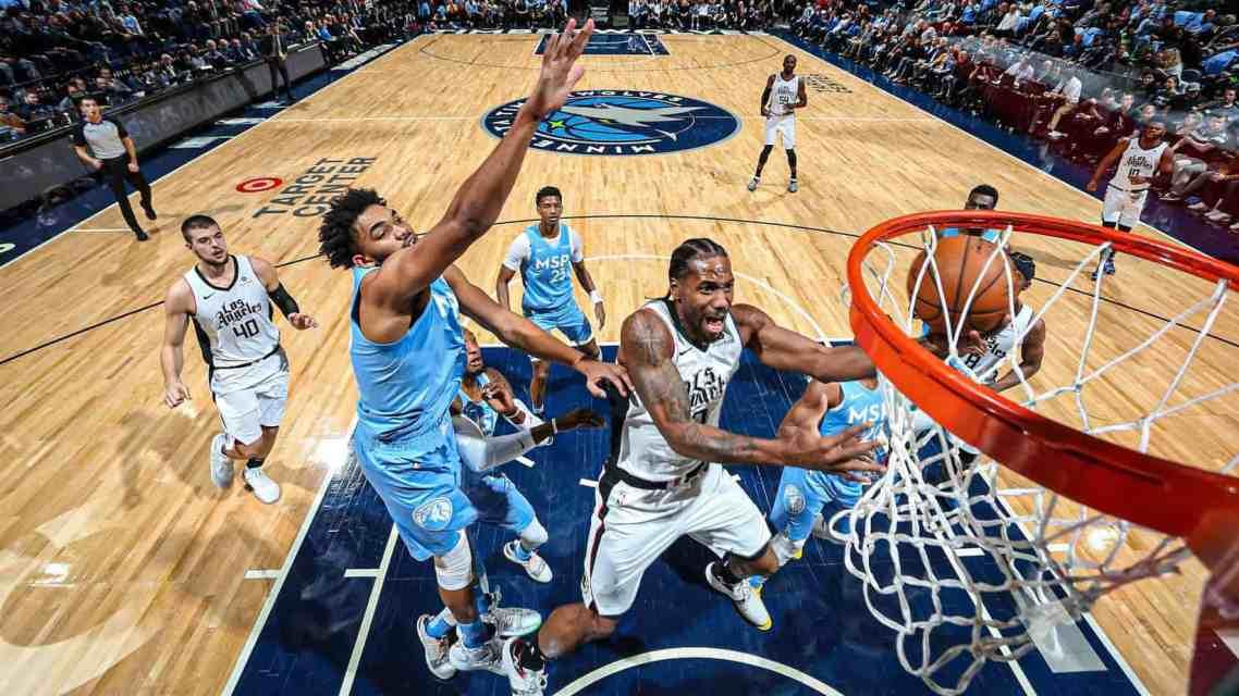 Clippers Big-2 > Timberwolves Big-2; Losing Streak Reaches 7 Games