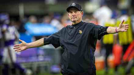 Clearly Sick of Being on the Hot Seat, Mike Zimmer Vents to Deion Sanders After Win Over Saints