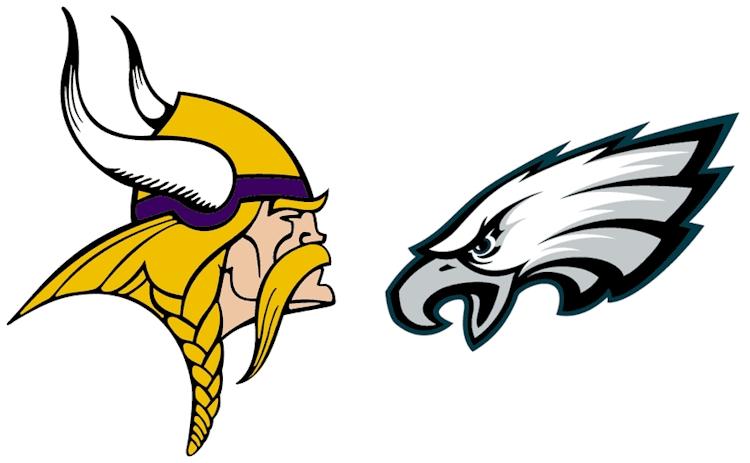Vikings vs Eagles