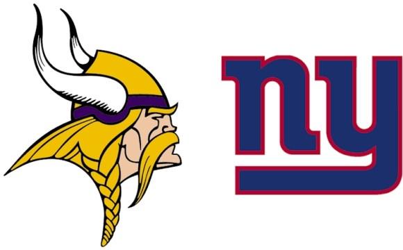 Vikings vs Giants