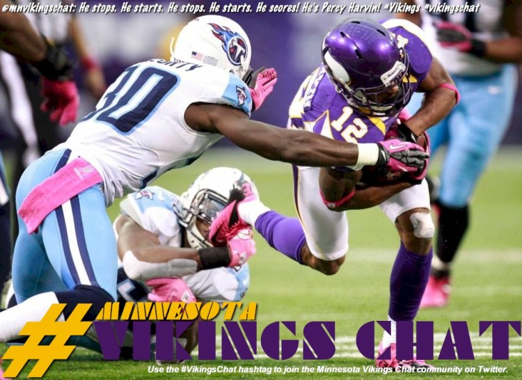 Photo - Percy Harvin Minnesota Vikings Chat Illustrated Tweet