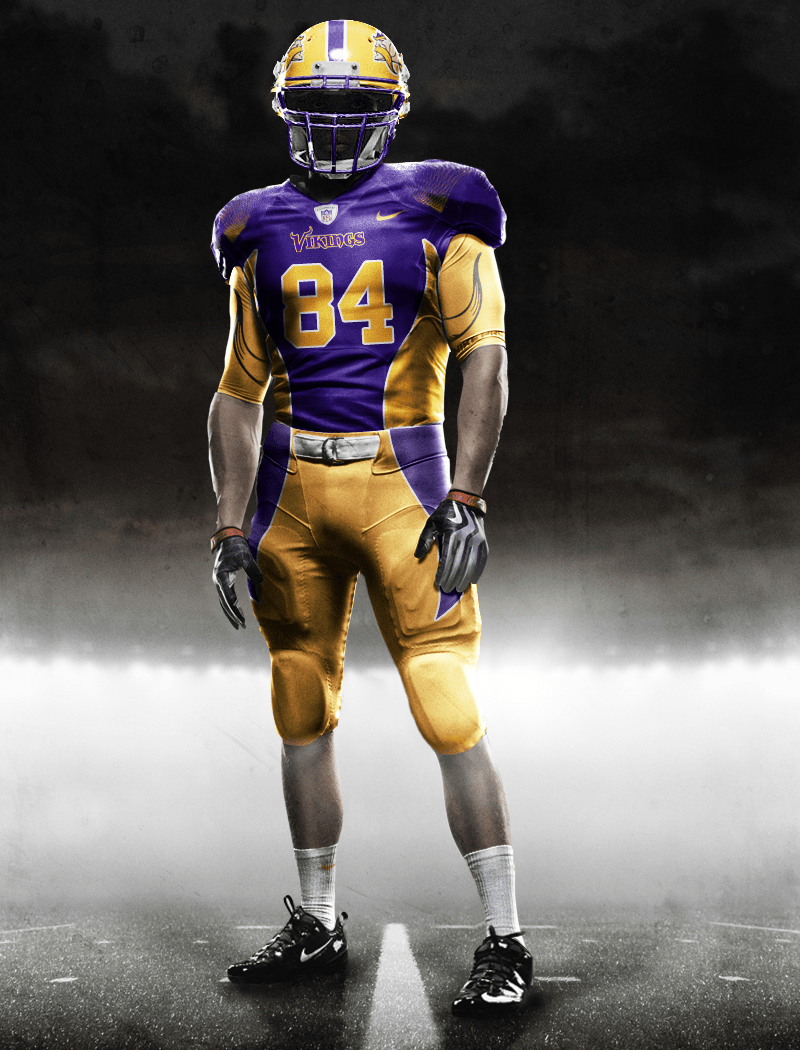 964cf1b9461456 Minneapolis brand design outfit BAKER set their creatives to work on the new  Vikings uniforms: