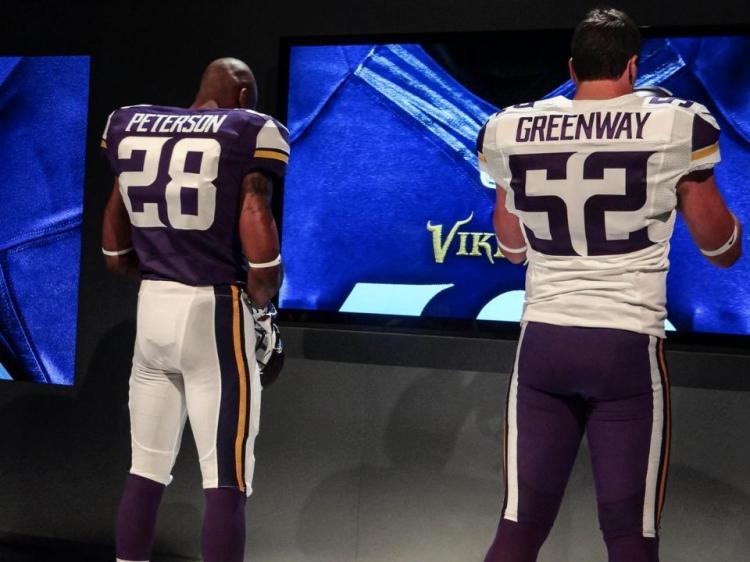 Minnesota Vikings New Uniforms Back