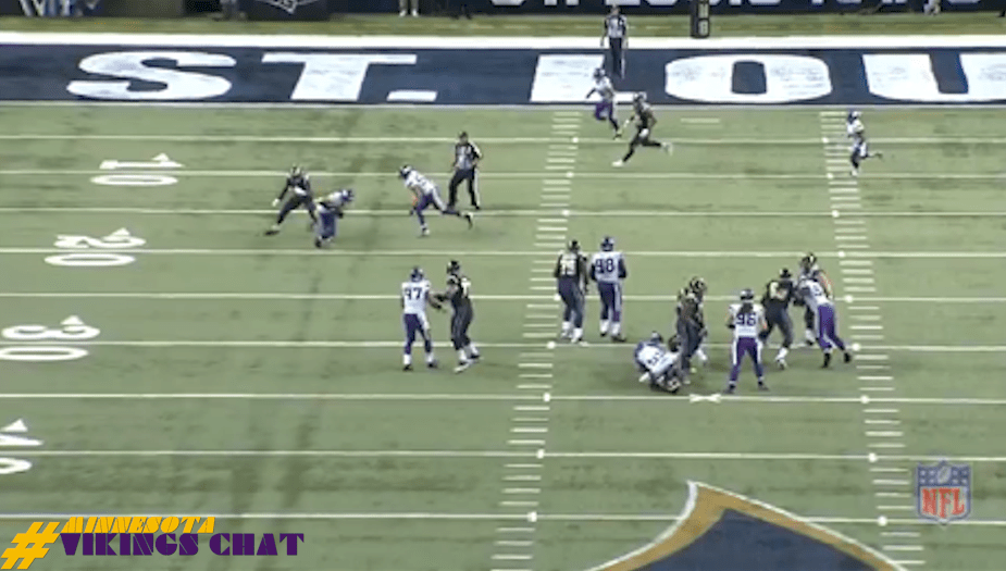 Harrison Smith 81 Yard Pick-6 vs Rams