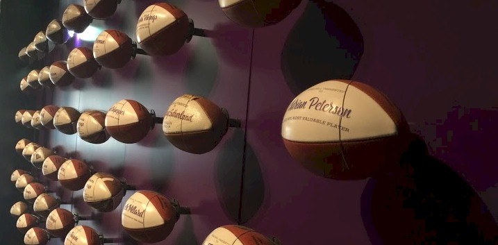 Photo: Minnesota Vikings Game Balls