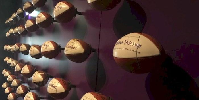 Photo: Minnesota Vikings Game Balls