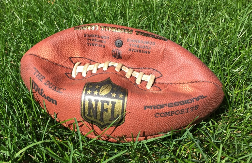 Photo: Deflated Game Ball for Vikings losses