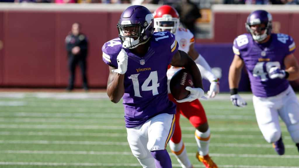 Photo: Stefon Diggs vs Kansas City Chiefs
