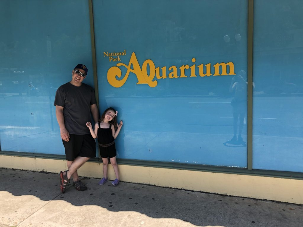 Hot springs aquairium