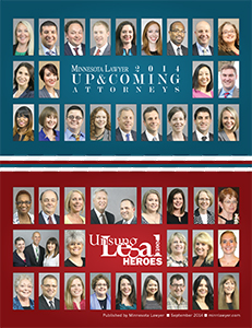 Click here to read the 2014 Up & Coming Attorneys digital edition.