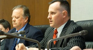 Rep. John Lesch, DFL-St. Paul, right, has proposed a bill that which would put civil and criminal penalties on the practice known as revenge porn. File photo