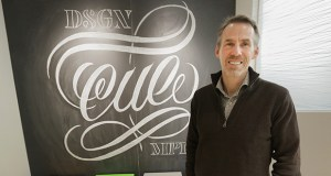 """Ed Mathie, managing director of Cue Inc. in Minneapolis, says, """"There's almost an endless list of things that can be impacted by your brand."""" (Staff photo: Bill Klotz)"""