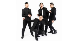 This publicity photo shows the Asian-American rock band called The Slants. The Supreme Court on Monday struck down part of a law that bans offensive trademarks. (AP photo: In Music We Trust)