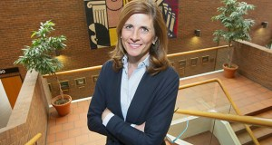 Laura Thomas, clinic director at the University of Minnesota Law School, says clinical experience builds students' confidence and development as lawyers. She was photographed in Mondale Hall on the university's West Bank campus in Minneapolis. (Staff photo: Bill Klotz)