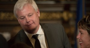 Justice Paul Thissen is an attorney and Minneapolis lawmaker who has served eight terms in the House — including one as House Speaker and two as its Minority Leader. (Staff photo: Kevin Featherly)