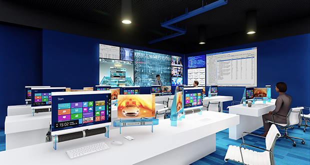 Metropolitan State University and its partners hope to build this high-tech training and security operations center for the MN Cyber initiative on its campus in St. Paul. (Submitted image: Metropolitan State University)